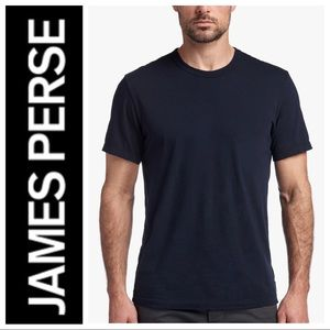 JAMES PERSE Short Sleeve Standard Crewneck T-SHIRT